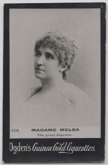 Nellie Melba, published by Ogden's - NPG x197010