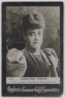 Adelina Patti, published by Ogden's - NPG x197013