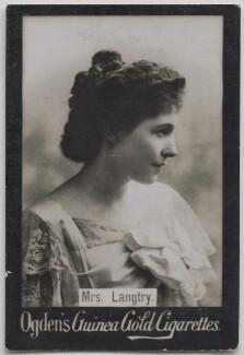 Lillie Langtry, published by Ogden's - NPG x197014