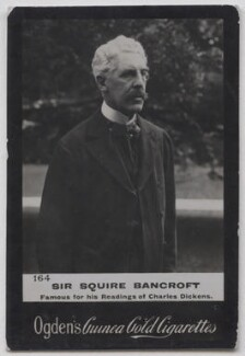 Sir Squire Bancroft (né Butterfield), published by Ogden's - NPG x197019