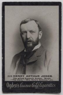 Henry Arthur Jones, published by Ogden's - NPG x197021