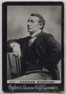 Sir Charles Wyndham (Charles Culverwell), published by Ogden's - NPG x197025