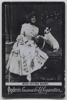 (Lilian) Decima Moore, published by Ogden's - NPG x197030