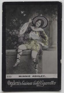 Minnie Ashley, published by Ogden's - NPG x197032