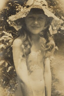 Ann Davies Synge (née Stephen), by Unknown photographer - NPG Ax160885