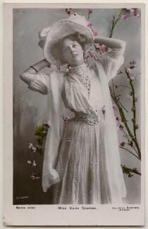 Doris Stocker, by Bassano Ltd, published by  Davidson Brothers - NPG x198073