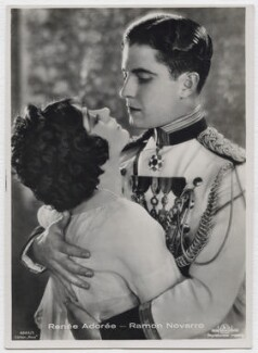 Renée Adorée and Ramon Novarro in 'Forbidden Hours', by Unknown photographer - NPG x138168