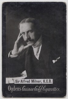 Alfred Milner, Viscount Milner, by Elliott & Fry, published by  Ogden's - NPG x197037