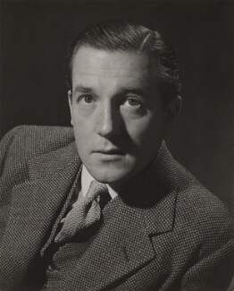 Sir Hardy Amies, by Douglas Glass - NPG x194041
