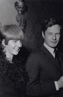 Cilla Black; Brian Epstein, by Unknown photographer - NPG x194050