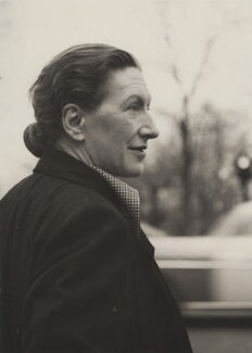 Elizabeth Bowen, by Elliott Erwitt - NPG x194052