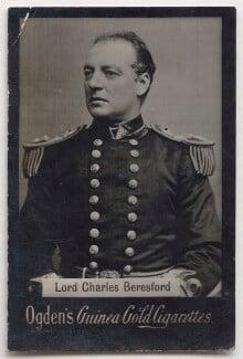 Charles William de la Poer Beresford, Baron Beresford, by Alexander Bassano, published by  Ogden's - NPG x197038