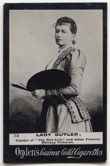 Elizabeth Southerden (née Thompson), Lady Butler, published by Ogden's - NPG x197043
