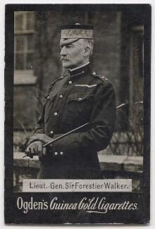Sir Frederick Forestier-Walker, by Alexander Bassano, published by  Ogden's - NPG x197054