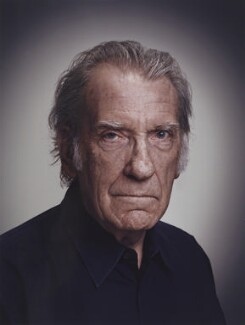 David Warner, by Rory Lewis, 2013 - NPG x138151 - © Rory Lewis