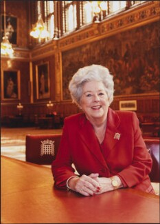 Betty Boothroyd, Baroness Boothroyd, by Anita Corbin - NPG x138153