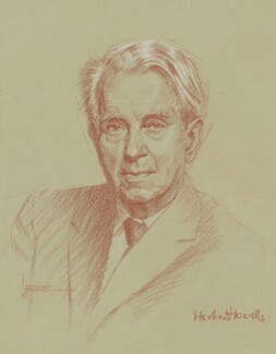 Herbert Norman Howells, by Leonard Monro Boden - NPG 6988