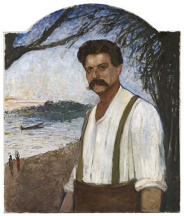 Albert Schweitzer, by Clara Ewald - NPG 6985