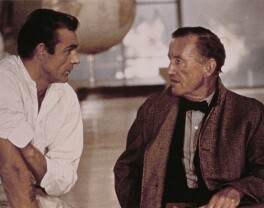 Sean Connery and Ian Fleming on the set of 'Dr. No', by Unknown photographer - NPG x194068