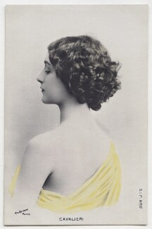 Lina Cavalieri, by Reutlinger - NPG x138215