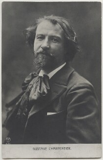 Gustave Charpentier, by Unknown photographer - NPG x138216
