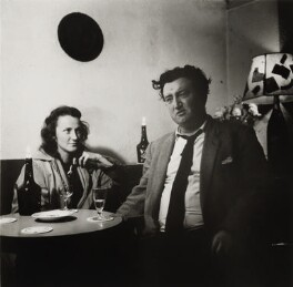 Beatrice Behan (née Ffrench-Salkeld); Brendan Behan, by Ida Kar - NPG x138226
