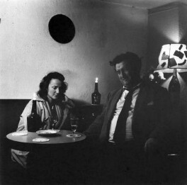 Beatrice Behan (née Ffrench-Salkeld); Brendan Behan, by Ida Kar - NPG x138227
