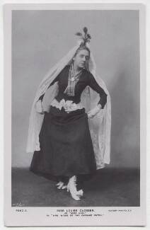Louise Closser as Miss Hazy in 'Mrs Wiggs of the Cabbage Patch', by The Dover Street Studios Ltd, published by  Rotary Photographic Co Ltd - NPG x138223