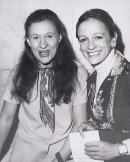 Ann Bostock; Clare Mary Francis, by Keystone Press Agency Ltd - NPG x194092