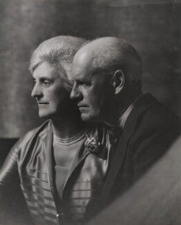 Ada Person Galsworthy (née Cooper); John Galsworthy, by Unknown photographer - NPG x194093