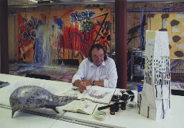 Will Alsop, by Malcolm Crowthers - NPG x138154