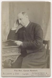 William Charles Edmund Newbolt, by Elliott & Fry - NPG x138235
