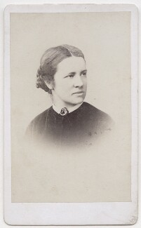 Elizabeth Garrett Anderson, by Caldesi & Co, December 1870 - NPG  - © National Portrait Gallery, London