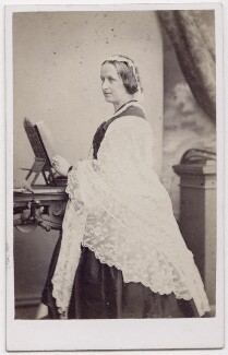 Elizabeth Georgiana (née Sutherland-Leveson-Gower), Duchess of Argyll, by Thomas Rodger - NPG x197058