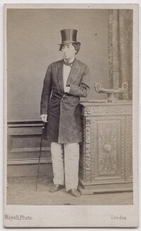 Benjamin Disraeli, Earl of Beaconsfield, by Mayall - NPG x197069