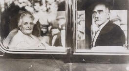 Caroline Kipling (née Balestier); Rudyard Kipling, by International News Photos - NPG x194116