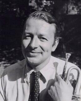 Humphrey Lyttelton, by Tom Blau, for  Camera Press: London: UK - NPG x194133