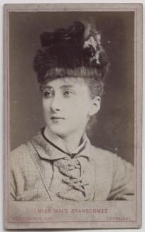 Maud Branscombe, by London Stereoscopic & Photographic Company - NPG x197075