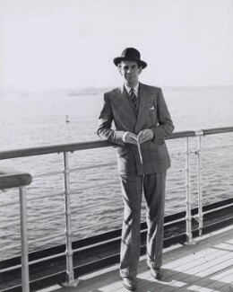 Raymond Massey, by Unknown photographer - NPG x194138