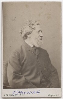 Robert Browning, by London Stereoscopic & Photographic Company - NPG x197080