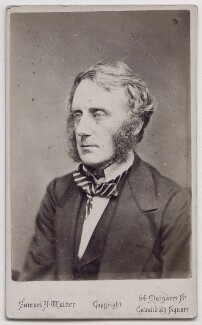 Edward Cardwell, Viscount Cardwell, by Samuel Alexander Walker - NPG x197085