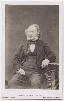 Richard Cobden, by Adolphe Paul Auguste Beau - NPG x197088