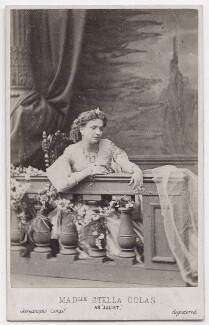 Stella Colas as Juliet in 'Romeo and Juliet', by London Stereoscopic & Photographic Company, 1863 - NPG  - © National Portrait Gallery, London