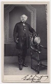 Sir Edward Cust, 1st Bt, by Thomas Thexton - NPG x197094