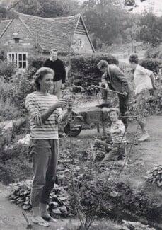 Vanessa Redgrave; Sir Michael Redgrave; Corin William Redgrave; Rachel Kempson, Lady Redgrave; Lynn Redgrave, by George Konig - NPG x194174