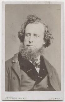 William Hepworth Dixon, by London Stereoscopic & Photographic Company - NPG x197100