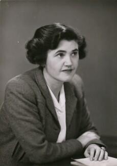 Janet Bevan (Jennie Lee), Baroness Lee of Asheridge, by Elliott & Fry - NPG x182180