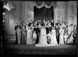 Wedding of Queen Elizabeth II and Prince Philip, Duke of Edinburgh, by Bassano Ltd - NPG x158911