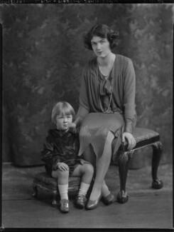 John Benedict Eden, Baron Eden of Winton; Edith Mary Patricia (née Prendergast), Lady Eden, by Lafayette - NPG x49905