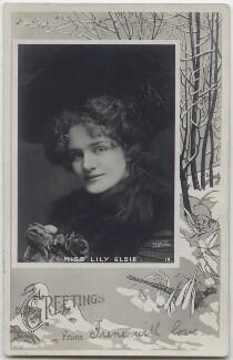 Lily Elsie (Mrs Bullough), by Johnston & Hoffmann - NPG x138270